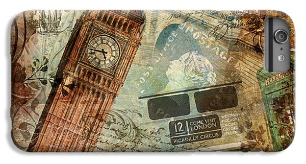 Tower Of London iPhone 6s Plus Case - Destination London by Mindy Sommers