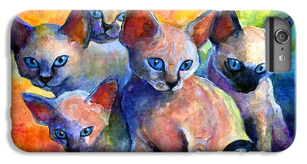 Devon Rex Kitten Cats IPhone 6s Plus Case