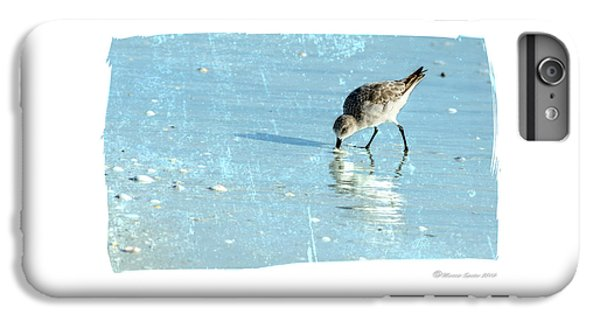 Sandpiper iPhone 6s Plus Case - Dig In by Marvin Spates