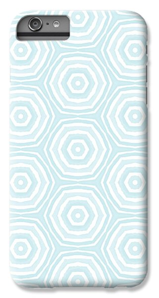 Dip In The Pool -  Pattern Art By Linda Woods IPhone 6s Plus Case by Linda Woods