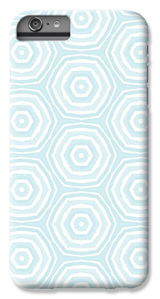 Wood iPhone 6s Plus Case - Dip In The Pool -  Pattern Art By Linda Woods by Linda Woods