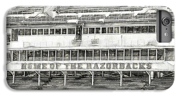 Donald W. Reynolds Razorback Stadium IPhone 6s Plus Case by JC Findley