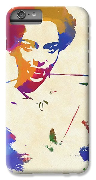 Dorothy Dandridge Watercolor IPhone 6s Plus Case