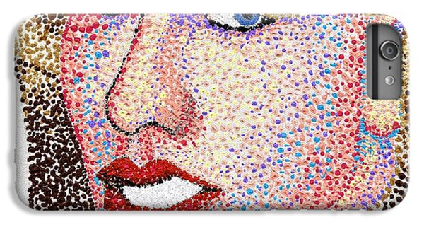 Dotted IPhone 6s Plus Case by Andrew Fisher
