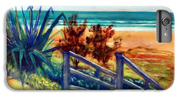 Down The Stairs To The Beach IPhone 6s Plus Case by Winsome Gunning
