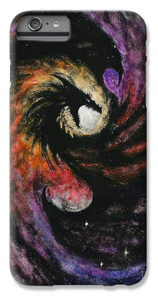 Dragon iPhone 6s Plus Case - Dragon Galaxy by Stanley Morrison
