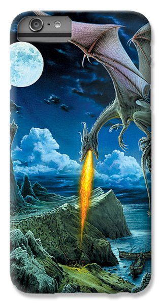 Dragon iPhone 6s Plus Case - Dragon Spit by The Dragon Chronicles - Robin Ko