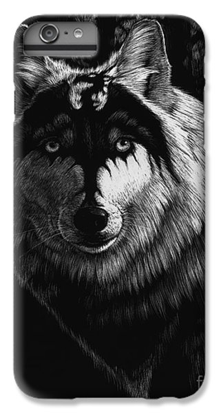 Dragon iPhone 6s Plus Case - Dragon Wolf by Stanley Morrison