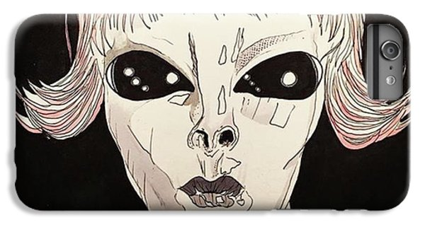 iPhone 6s Plus Case - She Came From Planet Claire by Russell Boyle