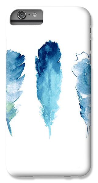 Dream Catcher Feathers Painting IPhone 6s Plus Case by Joanna Szmerdt