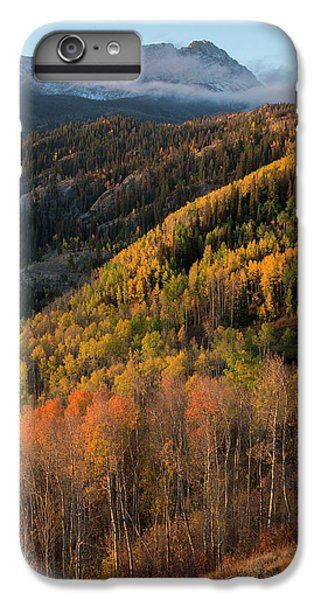 IPhone 6s Plus Case featuring the photograph Eagle's Nest Peak Vertical by Aaron Spong