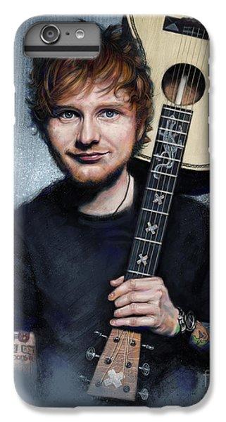 Folk Art iPhone 6s Plus Case - Ed Sheeran by Andre Koekemoer