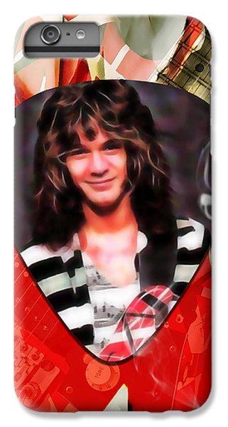 Eddie Van Halen Art IPhone 6s Plus Case by Marvin Blaine