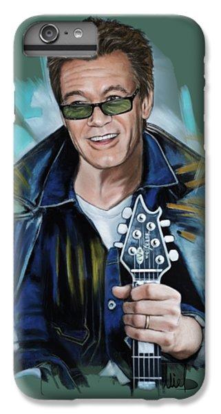 Van Halen iPhone 6s Plus Case - Eddie Van Halen by Melanie D
