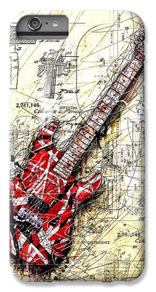 Van Halen iPhone 6s Plus Case - Eddie's Guitar 3 by Gary Bodnar