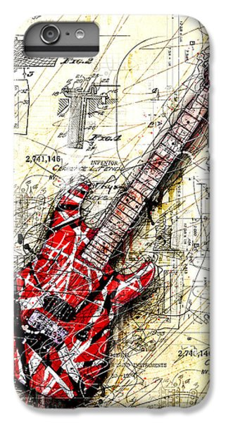 Guitar iPhone 6s Plus Case - Eddie's Guitar 3 by Gary Bodnar