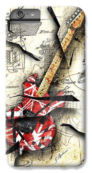 Van Halen iPhone 6s Plus Case - Eddie's Guitar by Gary Bodnar