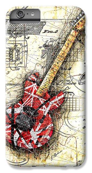 Van Halen iPhone 6s Plus Case - Eddie's Guitar II by Gary Bodnar