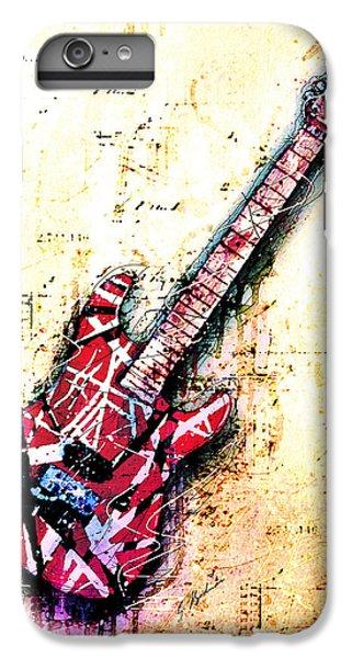 Van Halen iPhone 6s Plus Case - Eddie's Guitar Variation 07 by Gary Bodnar