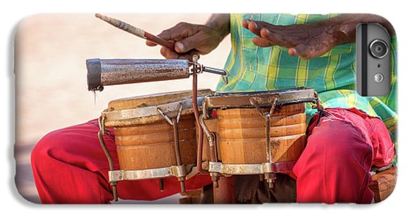Drum iPhone 6s Plus Case - El Son De Cuba by Delphimages Photo Creations