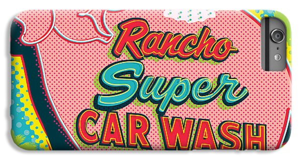 Car iPhone 6s Plus Case - Elephant Car Wash - Rancho Mirage - Palm Springs by Jim Zahniser