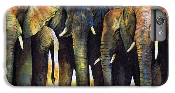 Elephant Herd IPhone 6s Plus Case