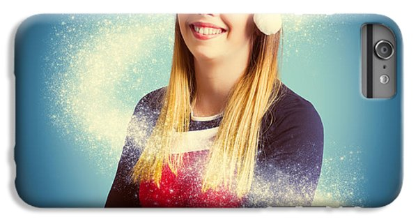Fairy Dust iPhone 6s Plus Case - Elf Wrapped Up In The Magic Of Christmas by Jorgo Photography - Wall Art Gallery