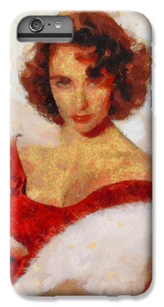 Elizabeth Taylor Actress IPhone 6s Plus Case by Esoterica Art Agency