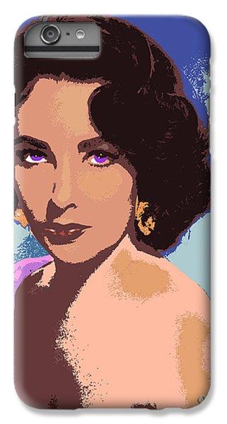 Elizabeth Taylor IPhone 6s Plus Case by John Keaton
