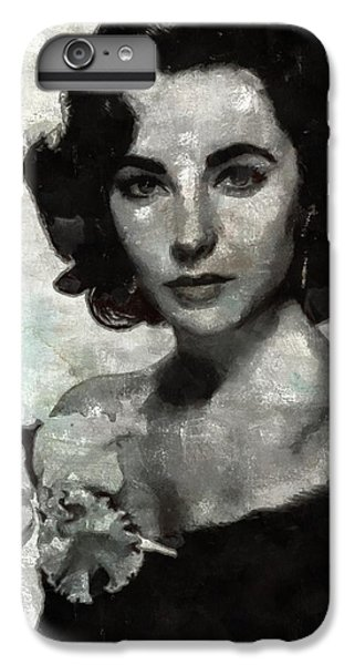 Elizabeth Taylor IPhone 6s Plus Case by Mary Bassett