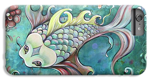 Lime iPhone 6s Plus Case - Emerald Koi by Shadia Derbyshire