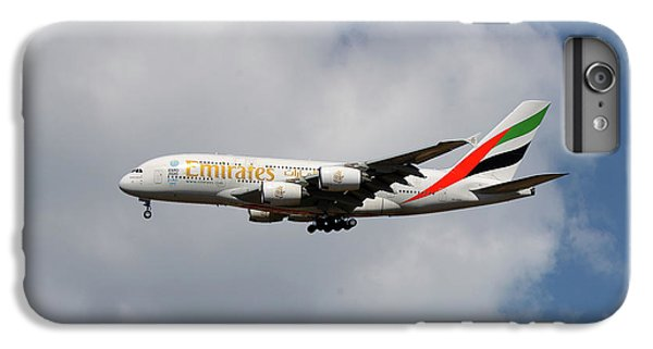 Jet iPhone 6s Plus Case - Emirates Airbus A380-861 5 by Smart Aviation