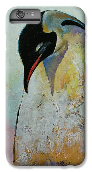Emperor Penguin IPhone 6s Plus Case by Michael Creese