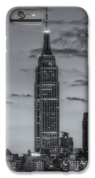 Empire State Building iPhone 6s Plus Case - Empire State Building Morning Twilight Iv by Clarence Holmes