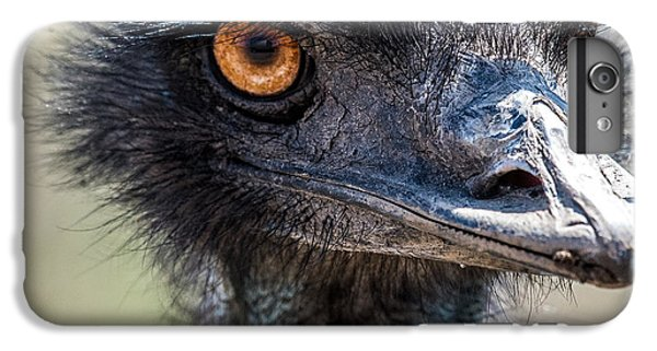 Emu Eyes IPhone 6s Plus Case by Paul Freidlund