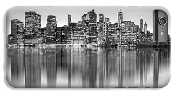 White iPhone 6s Plus Case - Enchanted City by Az Jackson