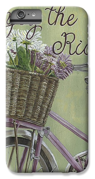 Bicycle iPhone 6s Plus Case - Enjoy The Ride by Debbie DeWitt