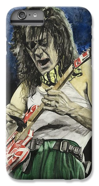 Van Halen iPhone 6s Plus Case - Eruption  by Lance Gebhardt