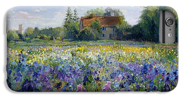 Evening At The Iris Field IPhone 6s Plus Case by Timothy Easton