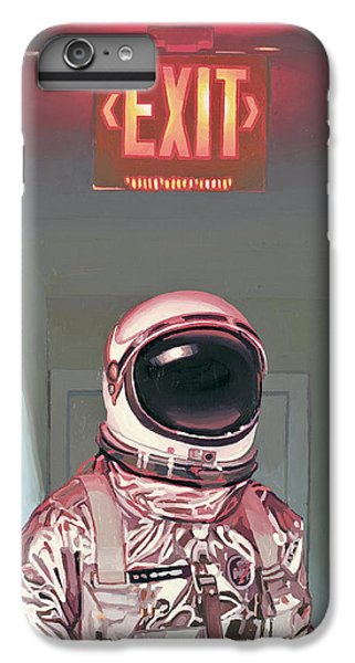 Science Fiction iPhone 6s Plus Case - Exit by Scott Listfield