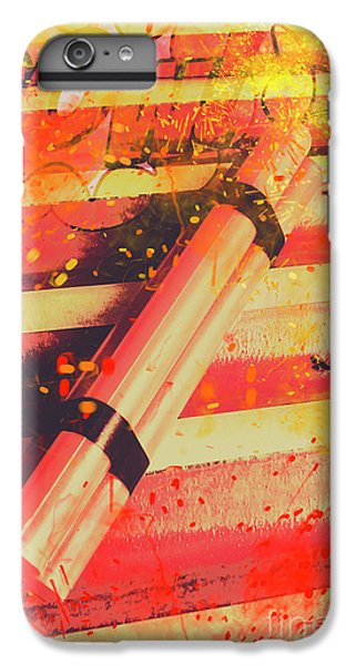 Explosion iPhone 6s Plus Case - Explosive Comic Art by Jorgo Photography - Wall Art Gallery