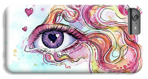 Eye Fish Surreal Betta IPhone 6s Plus Case by Olga Shvartsur