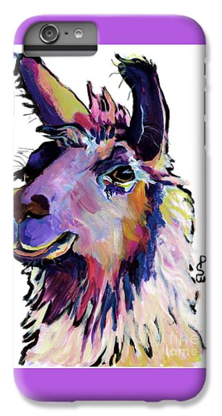 Fabio IPhone 6s Plus Case by Pat Saunders-White