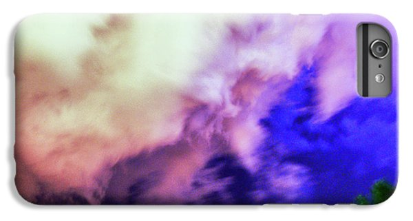 Nebraskasc iPhone 6s Plus Case - Faces In The Clouds 002 by NebraskaSC