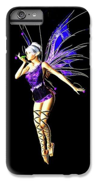 Folk Art iPhone 6s Plus Case - Fairy, Digital Art By Mb by Mary Bassett