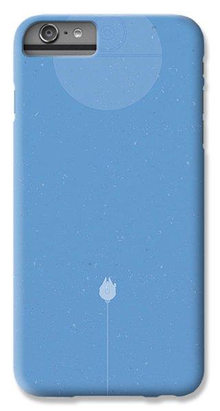 Falcon iPhone 6s Plus Case - Falcon Attack by Samuel Whitton