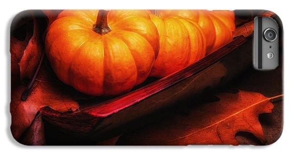 Fall Pumpkins Still Life IPhone 6s Plus Case by Tom Mc Nemar