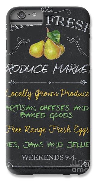 Chicken iPhone 6s Plus Case - Farm Fresh Produce by Debbie DeWitt