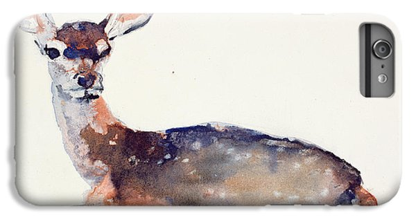 Deer iPhone 6s Plus Case - Fawn by Mark Adlington