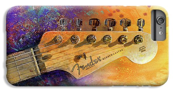 Guitar iPhone 6s Plus Case - Fender Head by Andrew King